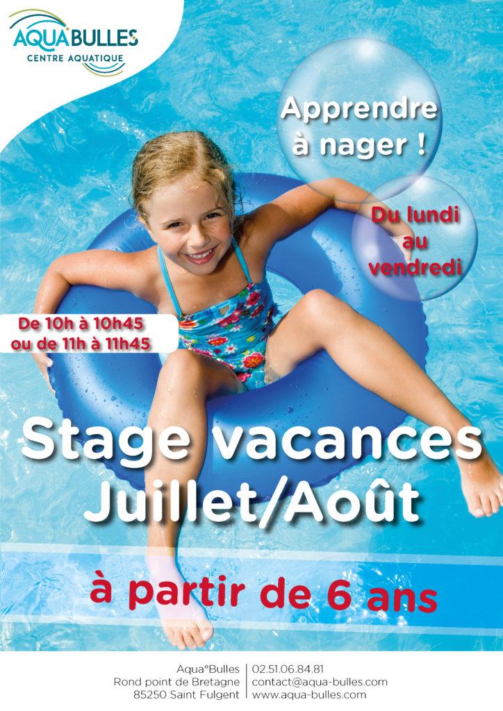 Stages vacances - Juillet Août