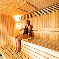 Piscine Aqua°Bulles - Sauna @Simon Bourcier