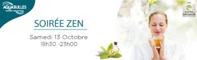 Soirée zen - Piscine aqua°bulles