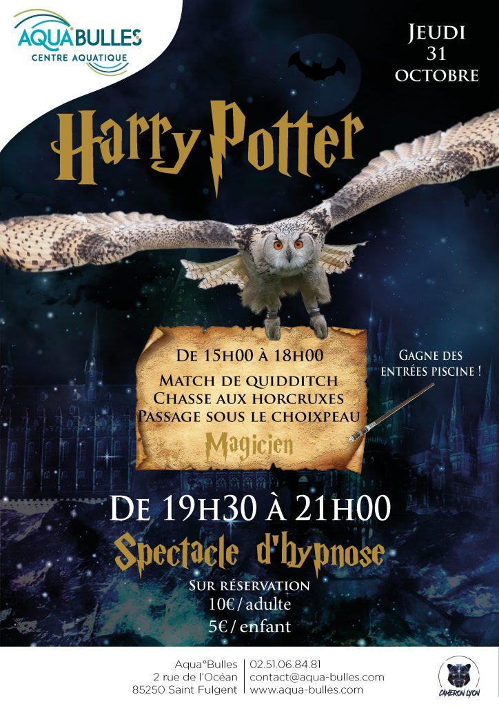 Halloween spécial Harry Potter à AquaBulles