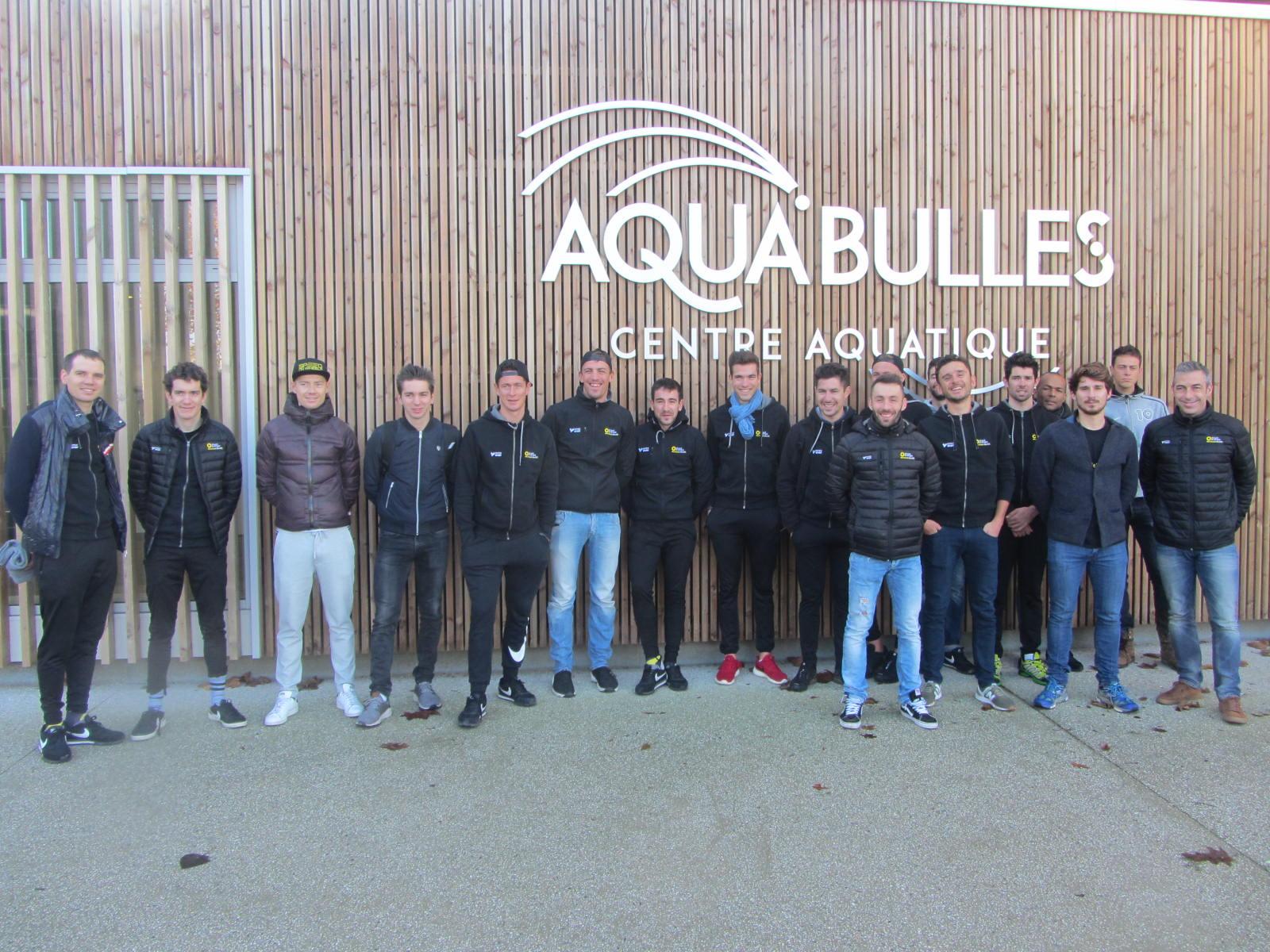 Team direct energie - Piscine Aqua°bulles