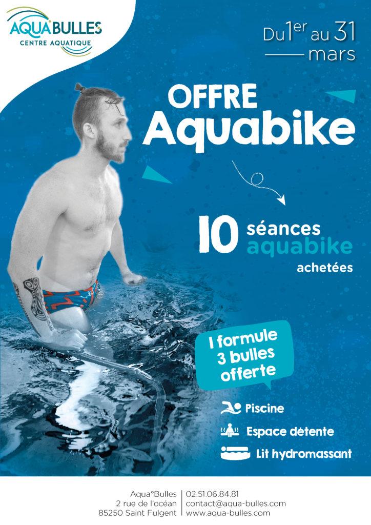 Offre aquabike - Piscine Aqua°Bulles
