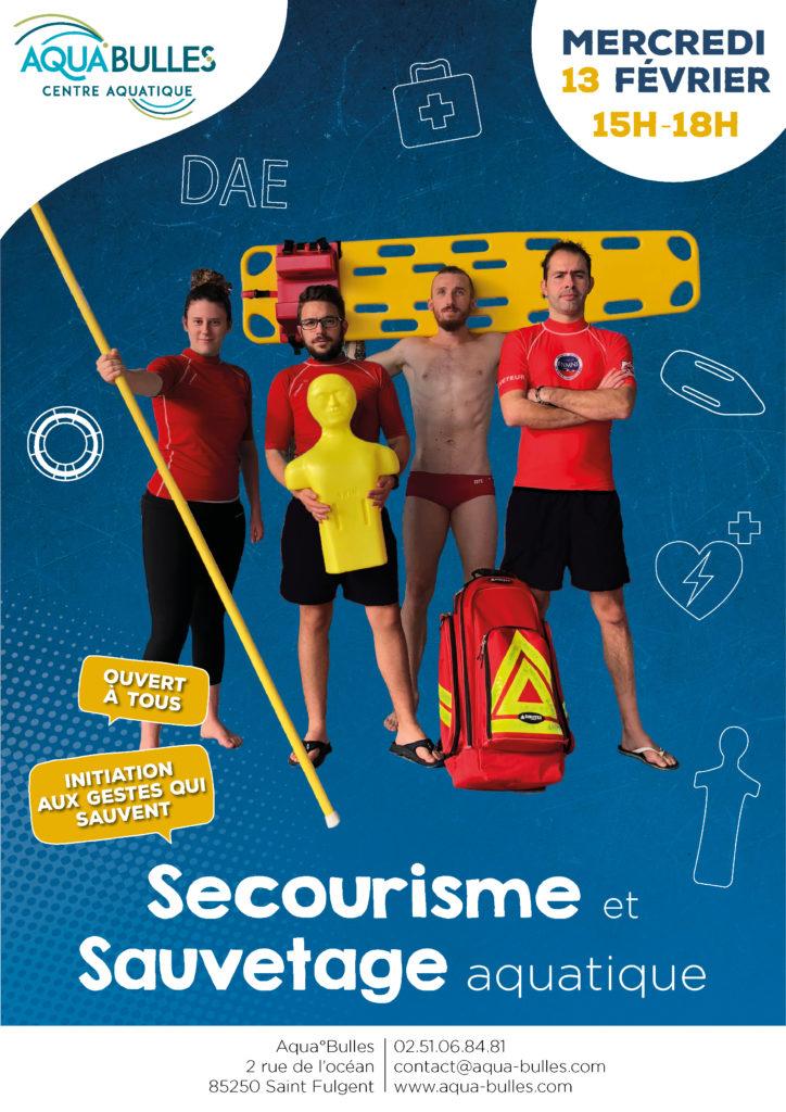 Secourisme et sauvetage aquatique Aqua°Bulles
