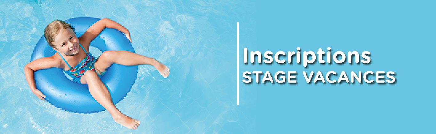 stage vacances natation enfant aquabulles