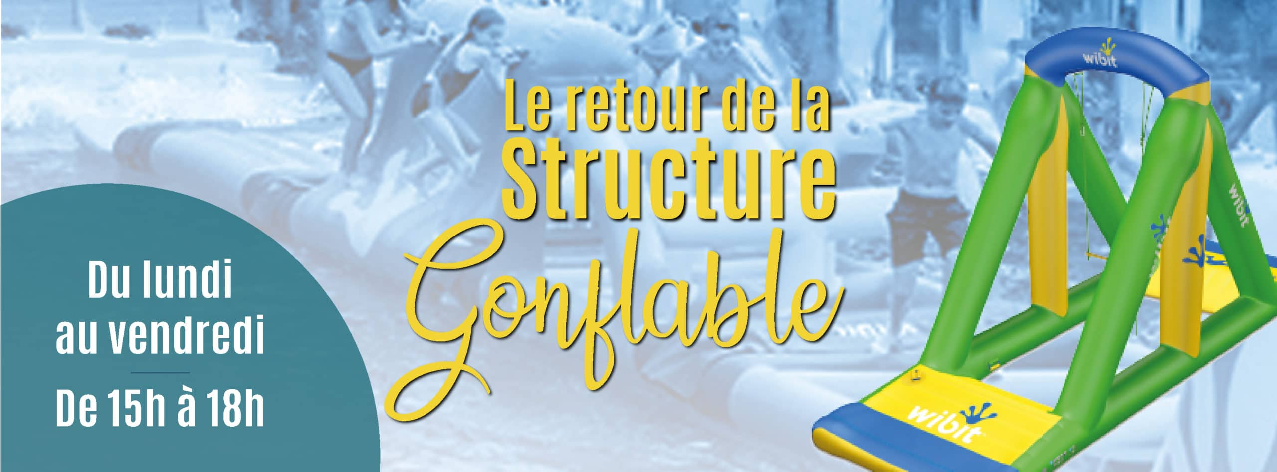 structure gonflable piscine aquabulles