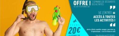 Semaines découverte 2021 Piscine aquabulles